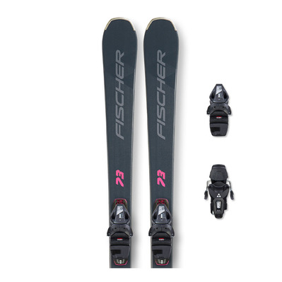 FISCHER - RC ONE LITE 73 SLR + RS9 SLR - Pack skis piste + Fixations Femme