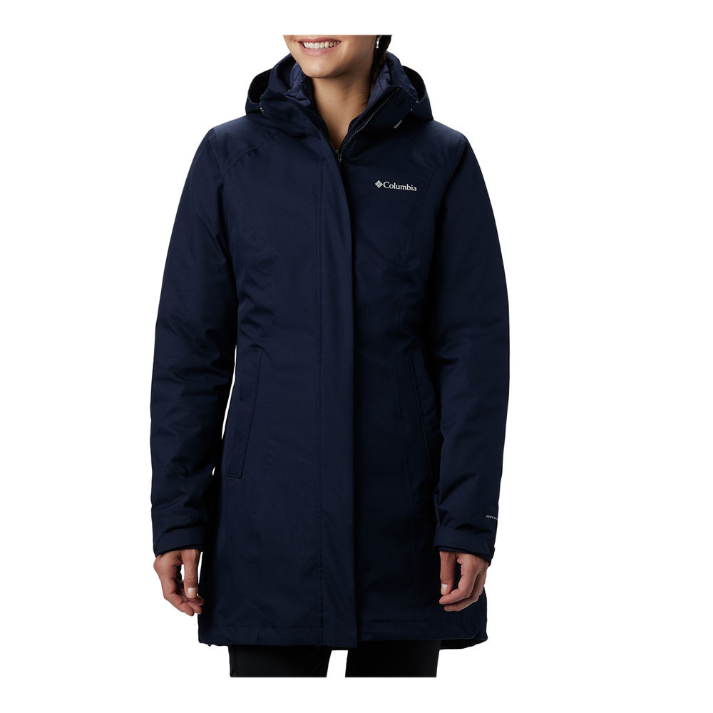 COLUMBIA Columbia SALCANTAY™ LONG HOODED - Jacket - Women ...