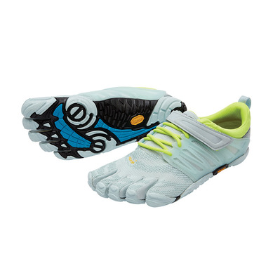 FIVEFINGERS - Five Fingers V-TRAIN - Trainingsschuhe - Frauen - pale blue/safety yellow