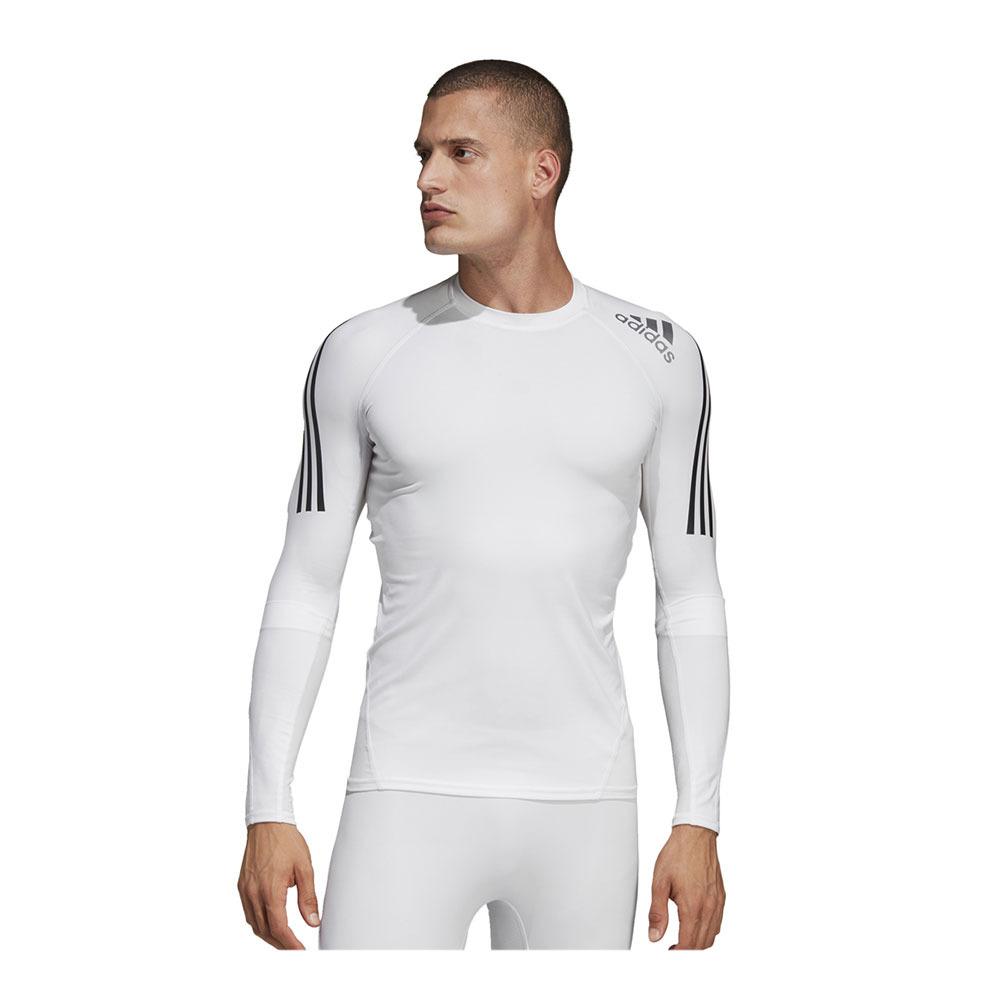 TRAINING Adidas ALPHASKIN SPORT - Jersey - Men's - white - Private ...