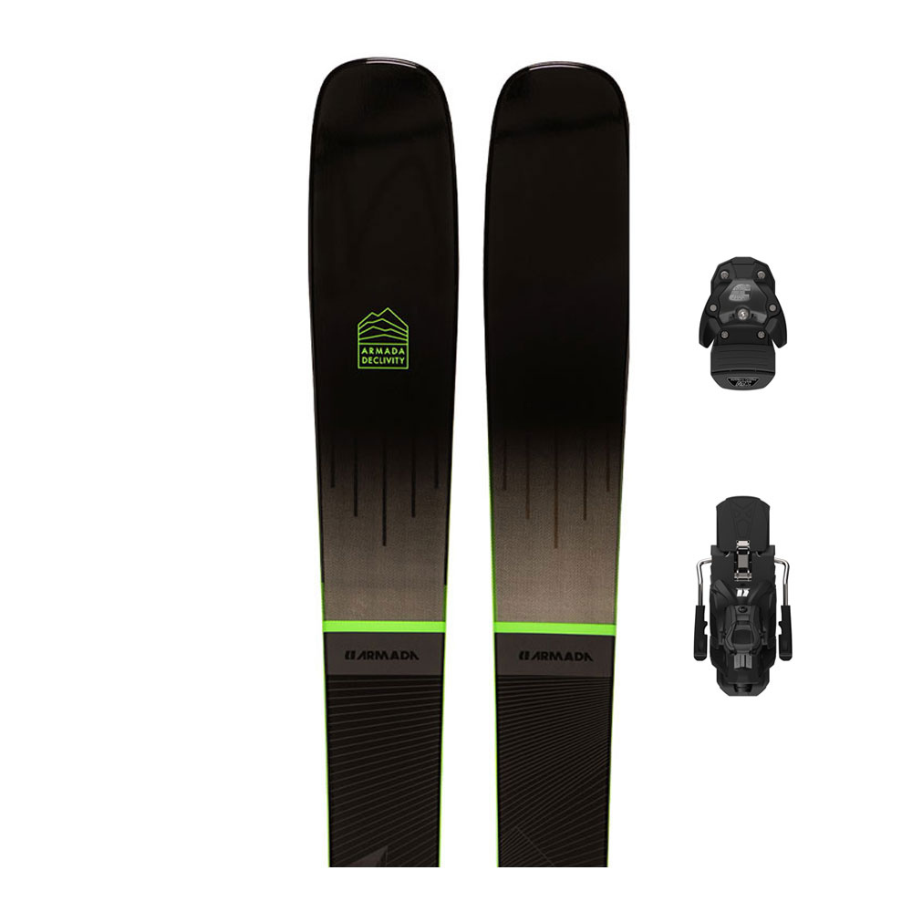 ARMADA - Armada DECLIVITY 92 TI + N WARDEN 13 - Pack skis piste + Fixations Homme