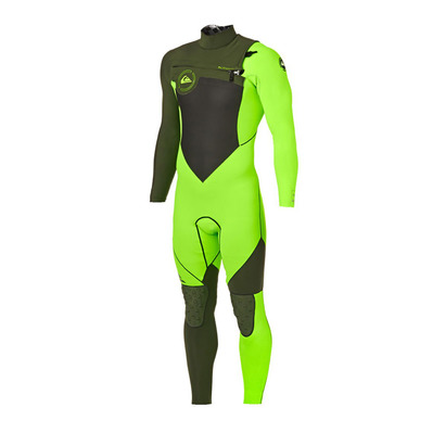 QUIKSILVER - PERFORMANCE CZ - Wetsuit - 4/3mm Men's - lime/ivy