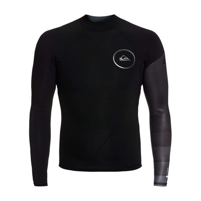 QUIKSILVER - SYNCRO SERIES - Top - 1mm Men's - black/jet black