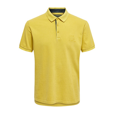 ONLY & SONS - ONSEVEN LIFE STAND - Polo - Men's - misted yellow