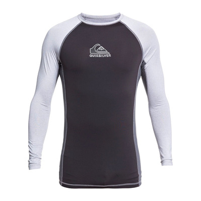 QUIKSILVER - BACKWASH - Rashguard - Men's - sleet heather