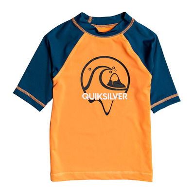 QUIKSILVER - BUBBLE DREAMS EQKWR03079 - Rashguard - Junior - nectarine