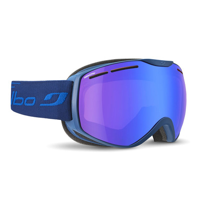 JULBO - FUSION - Masque ski photochromique bleu/flash bleu