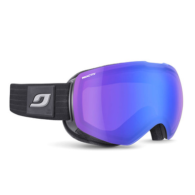 JULBO - SHADOW - Masque de ski Femme noir/flash bleu