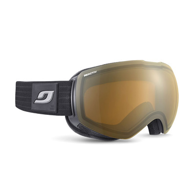 JULBO - SHADOW - Masque ski photochromique Femme noir/flash argent