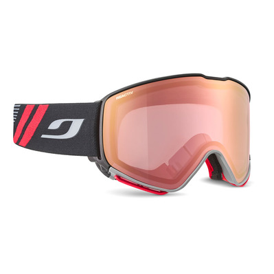 JULBO - QUICKSHIFT OTG - Masque de ski noir/flash rouge