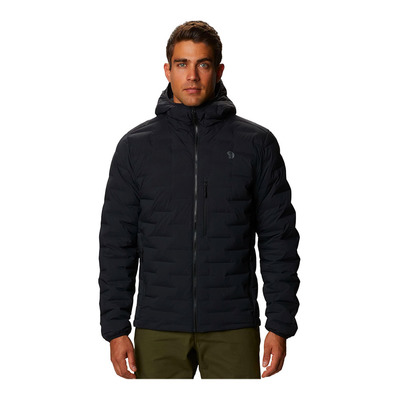 MOUNTAIN HARDWEAR - SUPER DS STRETCHDOWN - Piumino Uomo black