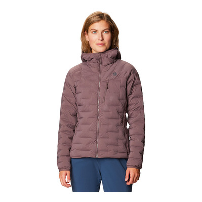 MOUNTAIN HARDWEAR - SUPER DS STRETCHDOWN - Piumino Donna warm ash