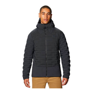 MOUNTAIN HARDWEAR - STRETCHDOWN HYBRID - Veste Homme dark storm