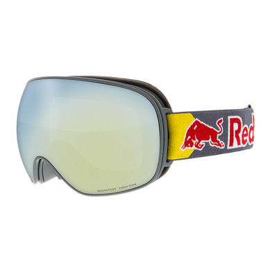 RED BULL - MAGNETRON 018 - Gafas de esquí grey/yellow snow