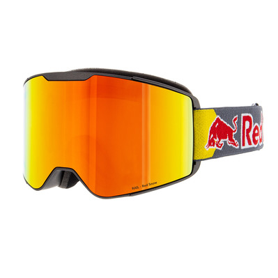 RED BULL - RAIL 002 - Gafas de esquí warm grey/red snow