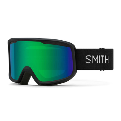 SMITH - AS FRONTIER - Gafas de esquí black - grn slx m