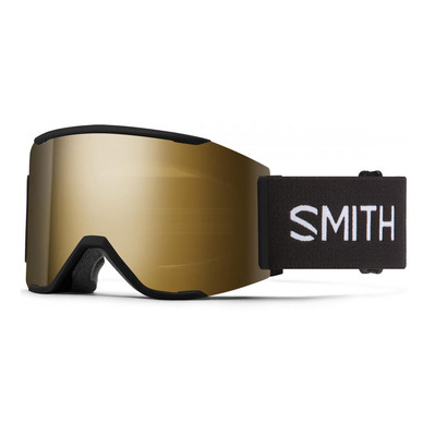 SMITH - AS SQUAD MAG - Gafas de esquí black - cps blk gld mr / mo - cp storm rose flash