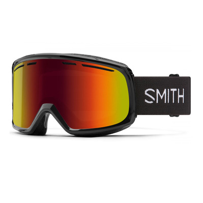 SMITH - AS RANGE - Masque ski black/red slx m
