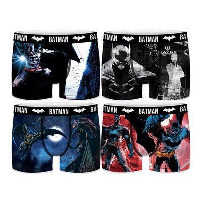 FREEGUN - BATMAN DC COMICS - Boxers x4 hombre multicolour