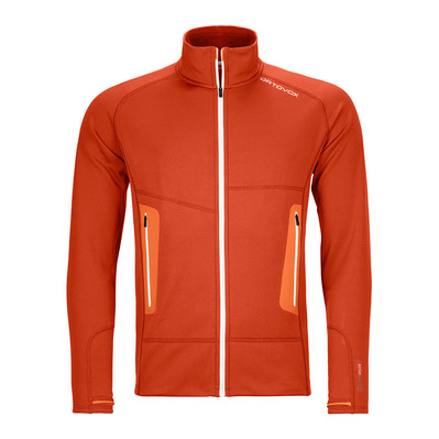 ORTOVOX - FLEECE LIGHT - Fleecejacke - Männer - desert orange