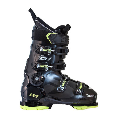 DALBELLO - DS AX 100 GW MS - Scarponi da sci Uomo black/acid green