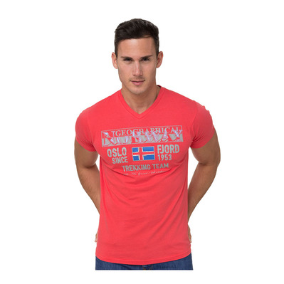 GEOGRAPHICAL NORWAY - SNHT-038 - T-Shirt - Männer - red