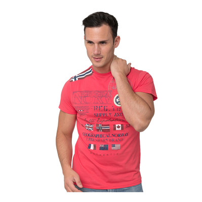 GEOGRAPHICAL NORWAY - JERINOS - T-Shirt - Männer - red