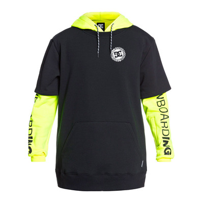 DC SHOES - DRYDEN - Sweat Homme safety yellow