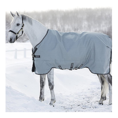HORSEWARE - RAMBO ORIGINAL TURNOUT 100G - Manta de paddock grey/navy