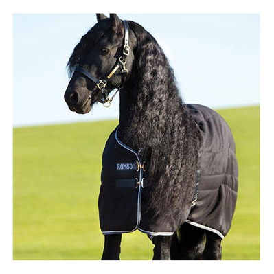 HORSEWARE - RAMBO STABLE 200G - Coperta da box blk grey