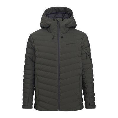 PEAK PERFORMANCE - FROST - Doudoune ski Homme coniferous green