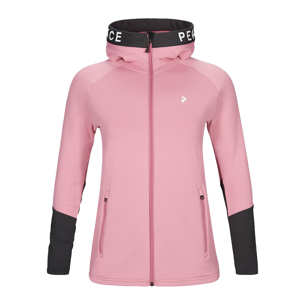 PEAK PERFORMANCE - Peak Performance RIDER - Chaqueta mujer frosty rose