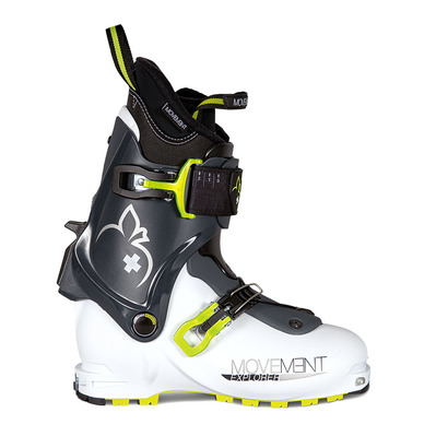 MOVEMENT - EXPLORER - Scarponi da sci Uomo white/green
