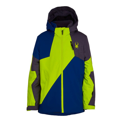 SPYDER - AMBUSH - Veste ski Junior navy