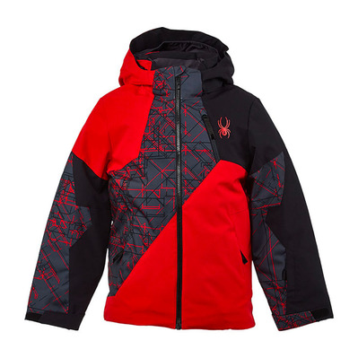 SPYDER - AMBUSH - Veste ski Junior bright red