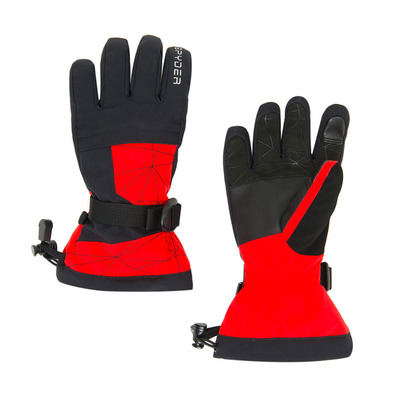 SPYDER - OVERWEB - Gants ski Junior bright red