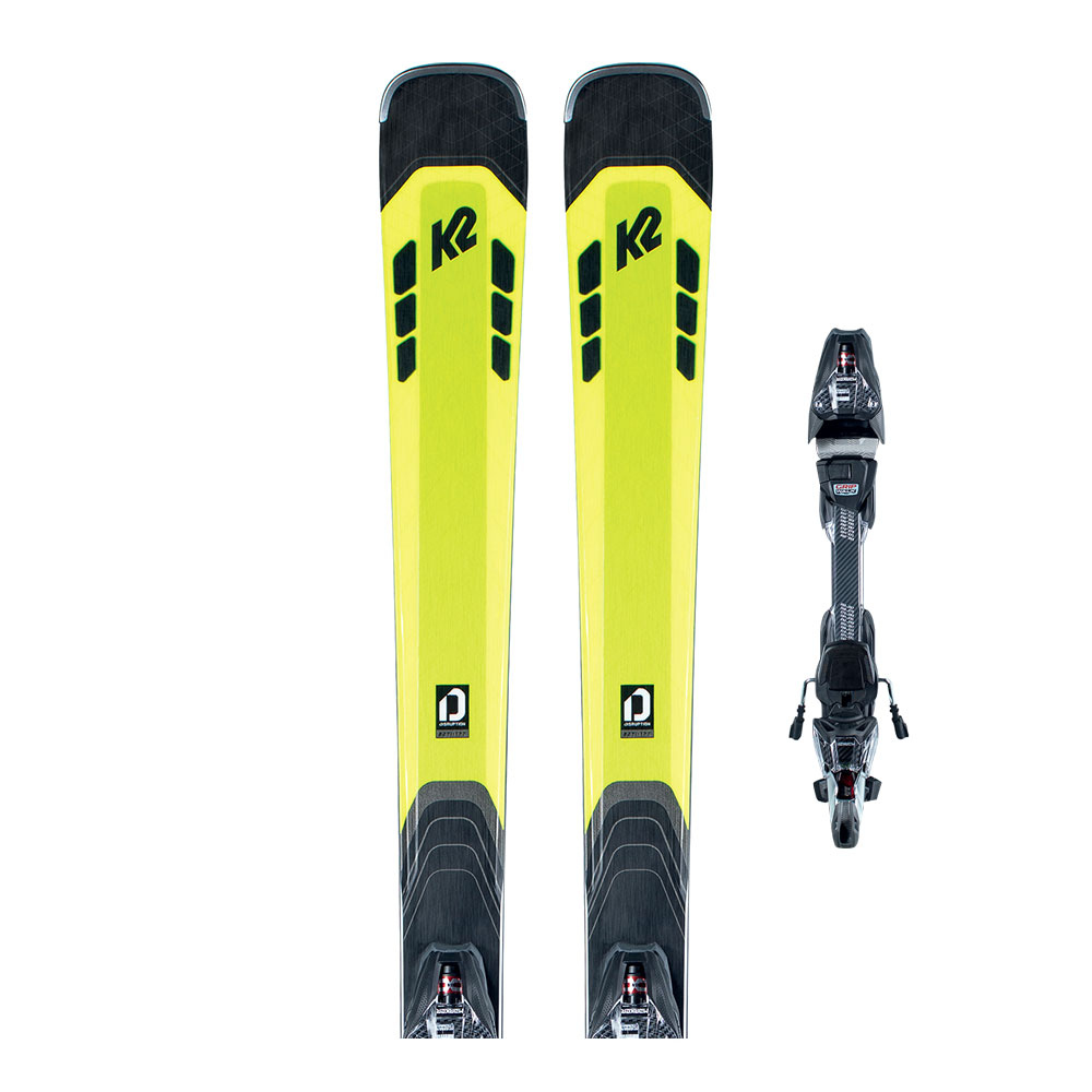 K2 - K2 DISRUPTION 82 TI + MXCELL 12 TCX QUIKCLIK - Pack skis all-mountain + Fixations Homme