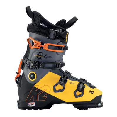 K2 - MINDBENDER 130 Homme black - grey - yellow