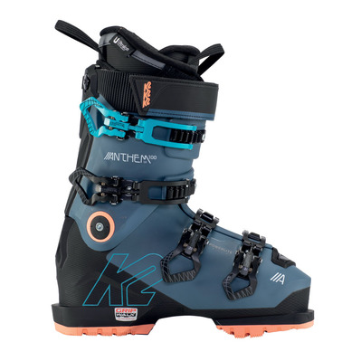 K2 - ANTHEM 100 LV GRIPWALK - Scarponi da sci Donna blue/black/coral