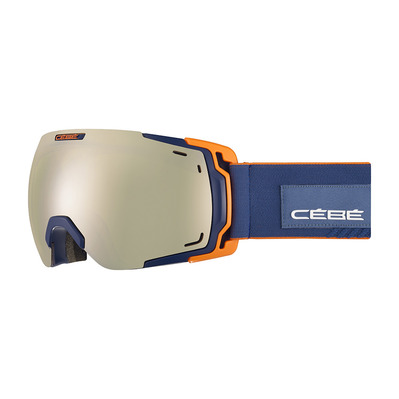 CEBE - FATEFUL - Masque ski matt dark/blue/orange/amber flash gold
