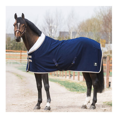 JACSON - JOSIE - Fleece Blanket - 400g - navy