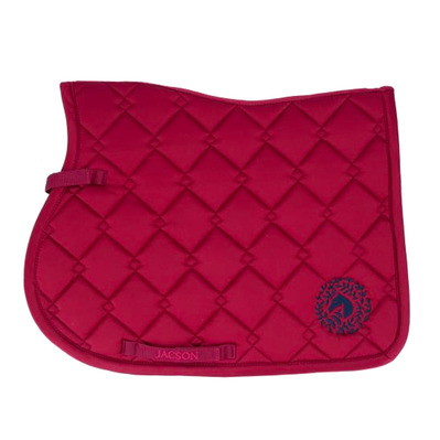 JACSON - SYDNEY - GP Saddle Pad - burgundy