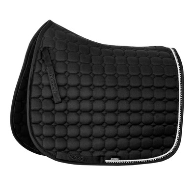 JACSON - CRYSTAL - Dressage Saddle Pad - black