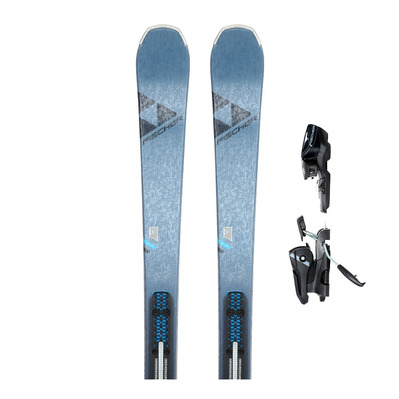FISCHER - MY PRO MT 73 SLR 19/20 - All Mountain Skis - Women's + Bindings MY RS9 SLR 10