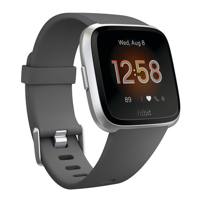 FITBIT - VERSA LITE - Smart Watch - charcoal/silver grey