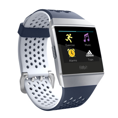 FITBIT - IONIC ADIDAS EDITION - Smart Watch - blue/white/silver