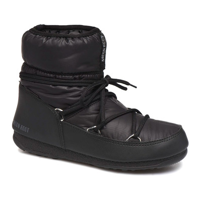 MOON BOOT - LOW NYLON WP 2 - Apres-Ski - Women's - black
