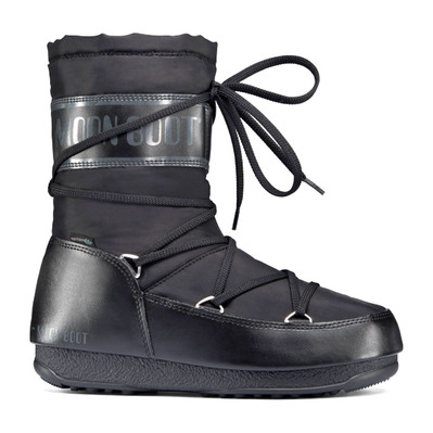 MOON BOOT - SOFT SHADE MID WP - Apres-Ski - Women's - black