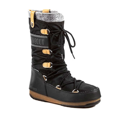 MOON BOOT - MONACO FELT WP - Apres-Ski - Women's - black