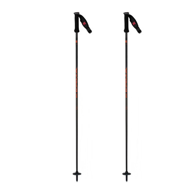 KERMA - VECTOR HYBRID 12 - Bâtons ski black/red